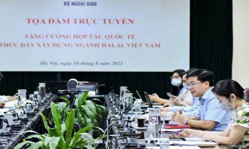 Tăng cường hợp tác quốc tế thúc đẩy xây dựng ngành Halal Việt Nam